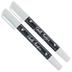 White Erasable Chalk Markers - 2 Piece Set
