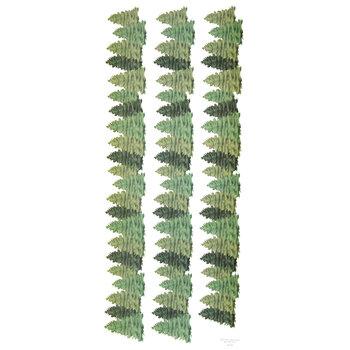 Evergreen Border Stickers