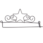 Star Needle Art Hanger
