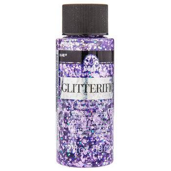 Purple Glitterific Acrylic Paint