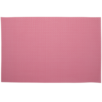 Hot Pink Rectangle Woven Placemat