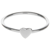 Sterling Silver Heart Ring - Size 6