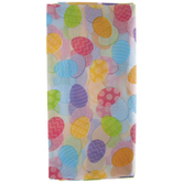 Pastel Easter Eggs Table Cover