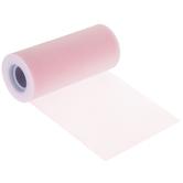 """Pink Matte Tulle - 6"""""""