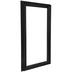 Matte Black Wood Open Frame - 10