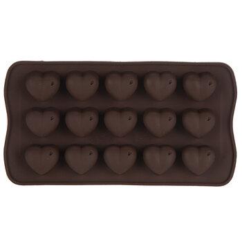 Hearts Silicone Chocolate Mold