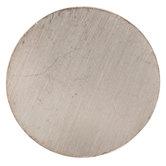 Silver Flared Tube Metal Knob
