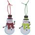 Snowman Ornaments Foam Craft Kit