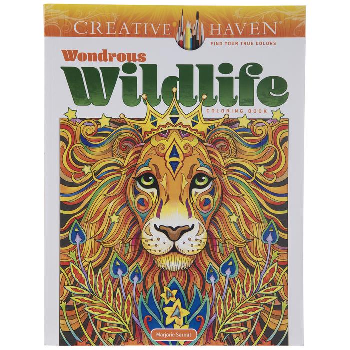 Wondrous Wildlife Coloring Book Hobby Lobby 2087542