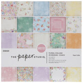 """Floral Collage Paper Pack - 6"""" x 6"""""""