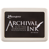 Jet Black Ranger Archival Ink Pad