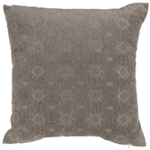 Gray Jacquard Pillow