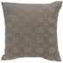 Gray Jacquard Pillow