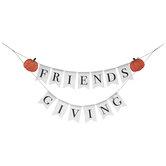 Friendsgiving Pumpkins Pennant Banner