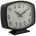 Black Rectangle Metal Clock