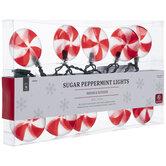 Peppermint Candy Lights