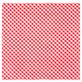 Red & White Gingham Bandana