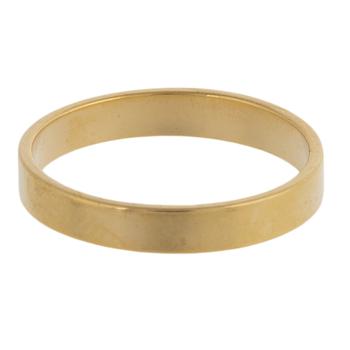 10K Gold Plated Circles