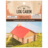 Wood Log Cabin Kit