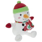 Singing Snowman Plush