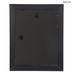 Black Beveled Wood Wall Frame - 8
