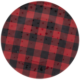 Red & Black Buffalo Check Plate
