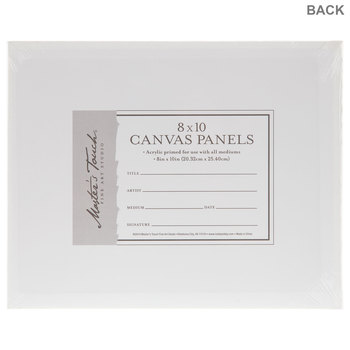 """Master's Touch Blank Canvas Panel Set - 8"""" x 10"""""""