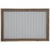 White & Gray Striped Memo Board