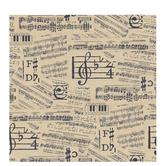 "Vintage Music Scrapbook Paper - 12"" x 12"""
