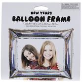 Iridescent Silver Frame Balloon