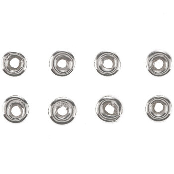 Sterling Silver Flat Spacers - 4mm