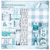 "Winter Wonder Scrapbook Kit - 12"" x 12"""