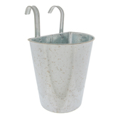 Hanging Galvanized Metal Planter - Small