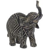 Diamond Pattern Elephant