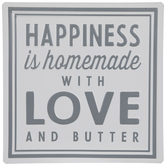 Love & Butter Metal Sign