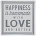 Love & Butter Metal Sign
