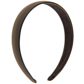 Black Faux Leather Headband