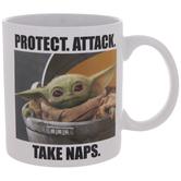 Baby Yoda Meme Mug
