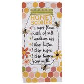 Bee Honey Scones Kitchen Towel