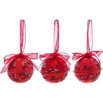 Red Bell Ornaments