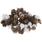 Acorns & Pinecones Filler