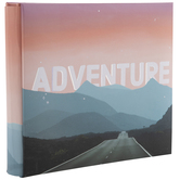 "Adventure Post Bound Scrapbook Album - 6"" x 6"""