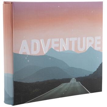 """Adventure Post Bound Scrapbook Album - 6"""" x 6"""""""