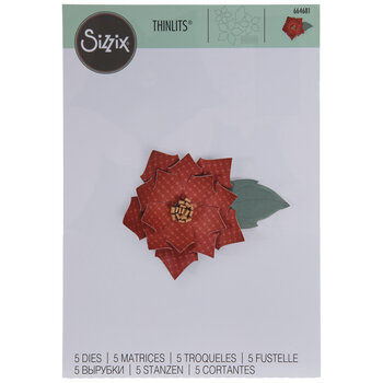 Sizzix Thinlits Poinsettia Bouquet Dies