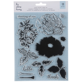 Peony Builder Clear Stamps