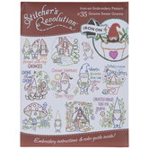 Gnome Sweet Gnome Embroidery Transfer Sheet
