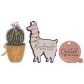 Yarn Llama Gift Tags