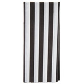 Black & White Striped Tissue Paper