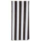 Black & White Striped Tissue Paper