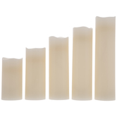 White LED Flameless Candles